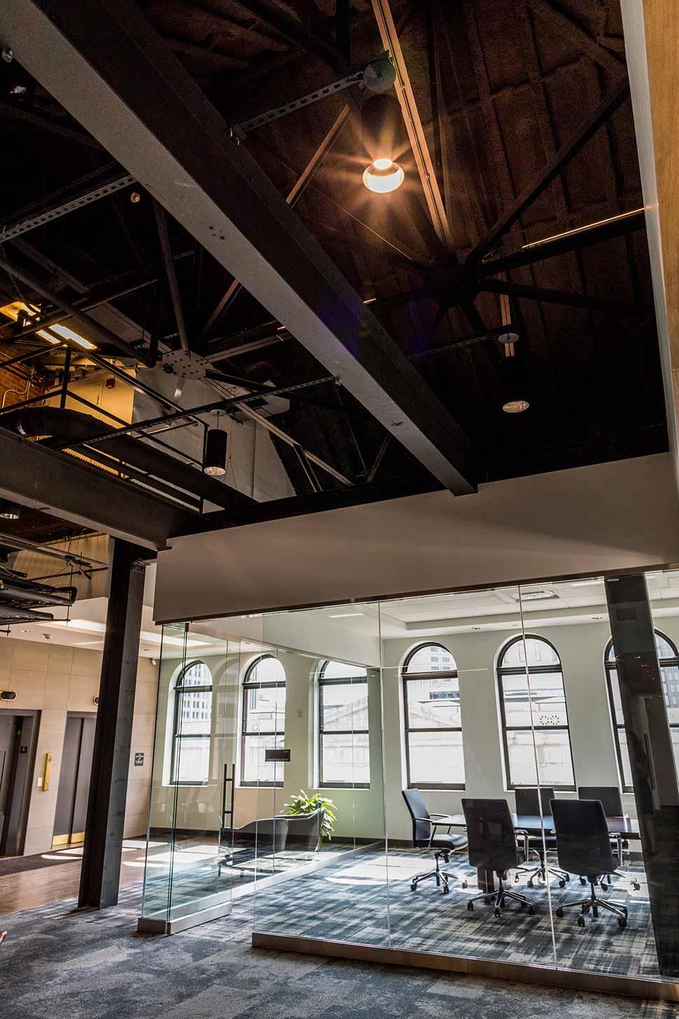 Main Office interior entry