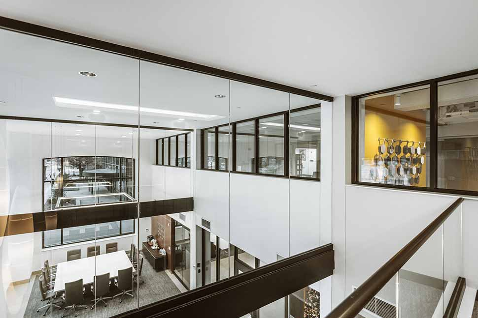 Double Height Lobby Space