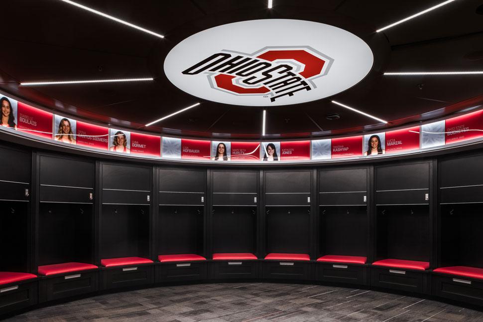 Ty Tucker rotunda locker room