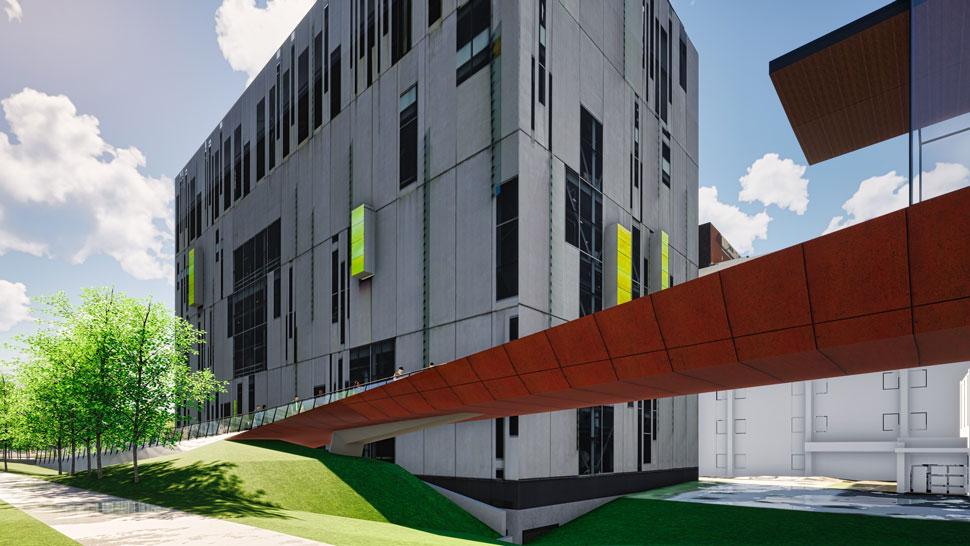 OSU Bridge rendering