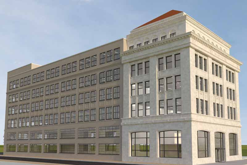 Dispatch Exterior Render