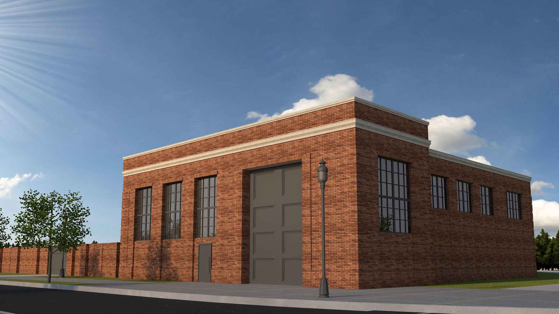 Pump Station Rendering